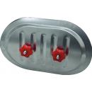 Revízne dvierka pre spiro potrubie RPDR