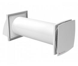 Rekuperácia do jednej miestnosti VENTS Solo RA1-35-9 R priemer potrubia 102mm dvojrýchlostný  30-46m3/h