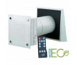 Rekuperácia vzduchu do jednej miestnosti BLAUBERG VENTO Ergo A50-1PRO -priemer potrubia 157mm výkon 51m3/h