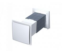 Rekuperácia vzduchu do jednej miestnosti VENTS TwinFresh S60- priemer potrubia 171x171mm dvojrýchlostný  35-58m3/h bez ovládania