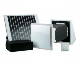 Rekuperátory vzduchu do jednej miestnosti TwinFresh SOLAR SA-60PRO-- priemer potrubia 171x171mm dvojrýchlostný  35-58m3/h -12Voltový