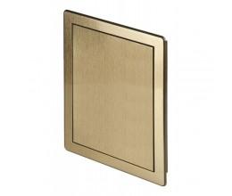 Dvierka plastové AD 200x200 Brúsený zlatý