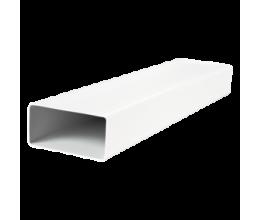 Plastové potrubie hranaté kód 5010-55x110mm/ 1meter
