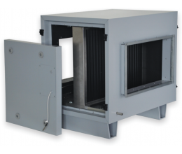 HRS CB 600x350 H2+F4 - 2 radová s teplovodným + 4 radová DX kaloriferom (HRS 2500)