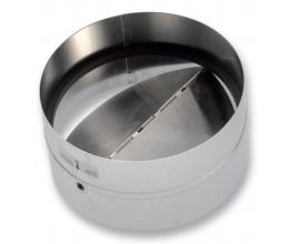 A-KOM  Ø160mm spätná klapka - s tesnením
