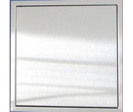 Dvierka nerez matná 400x400 magnet