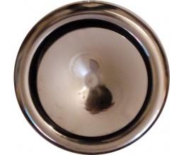 Tanierový ventil nerezový AMN150PRF-prívodný-lesklý