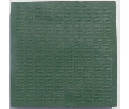 Plastový poklop k revíznej šachte 400x400mm-váha 3kg-nosnosť 1,5tony zelený