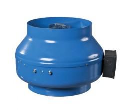 Priemyselný potrubný ventilátor VENTS  VKM 100-priemer napojenia 98mm výkon:270m3/h napätie 230V