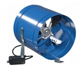 Axiálny ventilátor VENTS 250VKOM-priemer napojenia 262mm výkon:1070m3/h 230V