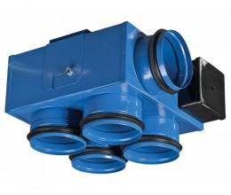 Ventilátory do zúženého priestoru typ VKP mini 100x100x4-priemer napojenia 99mm výkon:97-176 m3/h napätie 230V