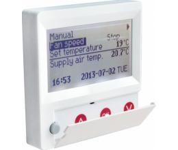HRS FLEX • Diaľkové ovládanie LCD pre jednotky HRS