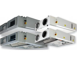 HRS C 700 E 3.0 EKO - Efektivita: 90% - Krytie: IP54 - Filter: F7/F5 - s elektrickým ohrievačom 0,9kW