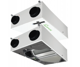 HRS Smarty 3X C 1.1 - Efektivita: 90% - Krytie: IP54 - Filter: G4 od/prisávanie: 0.085 /0.75 kW/A - riadiaci panel: Mini MCB
