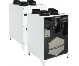 HRS Smarty 3X V 1.1 - Premium - Efektivita: 90% - Krytie: IP54 - Filter: G4 - od/prisávanie: 0.083 /0.75 kW/A - s elektrickým predohrevom
