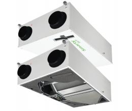 HRS SMARTY 4X C 1.2 - Efektivita: 90% - Krytie: IP54 - Filter: G4 od/prisávanie: 0.21 /0.92 kW/A - riadiaci panel: Mini MCB Basic