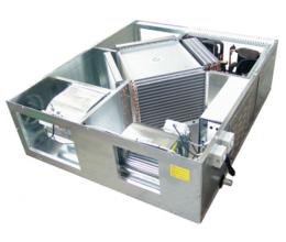 RFM 19 - s krížovým výmenníkom a integrovaným chladením - Účinnosť: 75% - Kapacita: 1400m3/h
