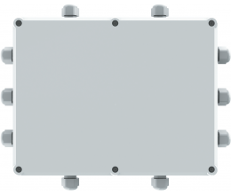 S-ECM • Reléová clona SOLANO pre viaceré externé periférne zariadenia