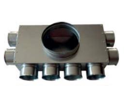 CAIRflex - CF RLK - Rozdelovacia krabica 8xDN75 / DN200