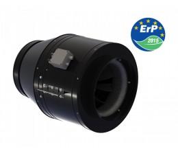 Priemyselný ventilátor Typ VENTS TT-MD 355 SILENT s EC motorom 1 fázový-priemer napojenia 353mm výkon 4080m3/h napätie 230V-1 fázový