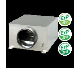 Radiálny priemyselný ventilátor VENTS KSB  Ø125mm  s EC motorom výkon 360m3/h  napätie 230V