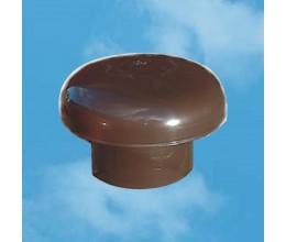 4110-Ukončovacia hlavica plastová hnedá na potrubie 110mm