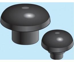 4110-Ukončovacia hlavica plastová šedá na potrubie 110mm