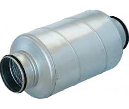 SARG • Kruhový tlmič zvuku priemer 160mm/dĺžka 600mm